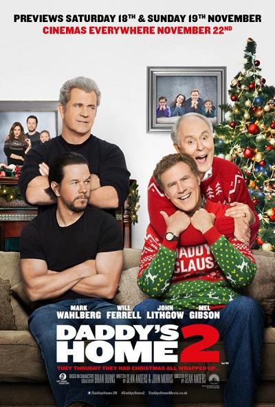 فیلم شماره 4 باکس آفیس: Daddy's Home 2