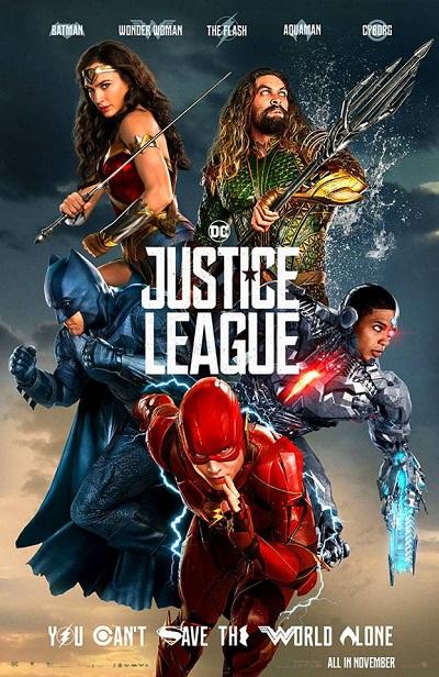 فیلم شماره 1 باکس آفیس : Justice League