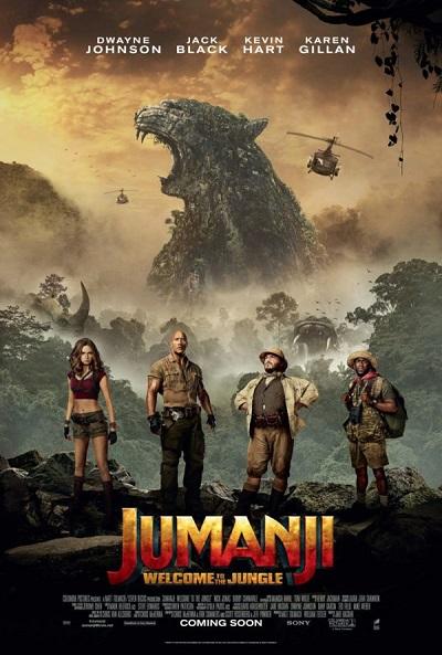 فیلم شماره 2 باکس آفیس: Jumanji: Welcome to the Jungle