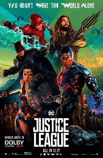 فیلم شماره 5 باکس آفیس: Justice League
