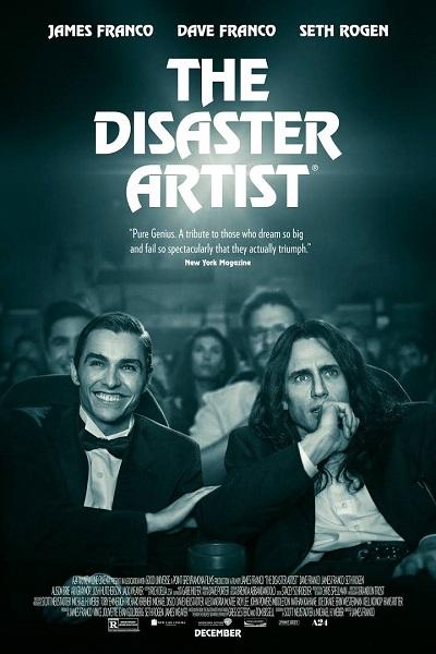 گزارش باکس آفیس 19 آذر - گزارش باکس آفیس 19 آذر - The Disaster Artist