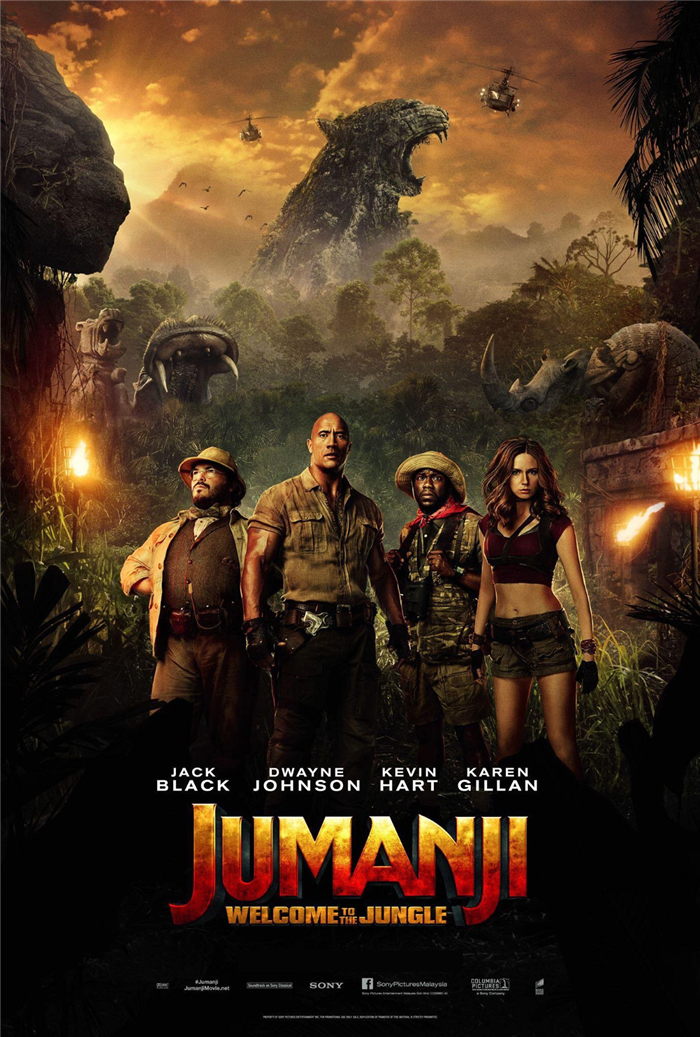 معرفی فیلم Jumanji: Welcome to the Jungle