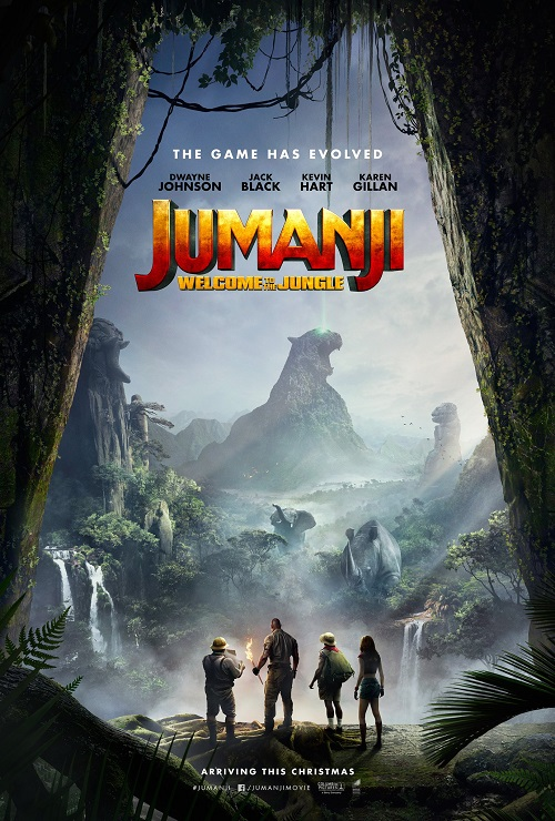 فیلم شماره 1 باکس آفیس: Jumanji: Welcome to the Jungle