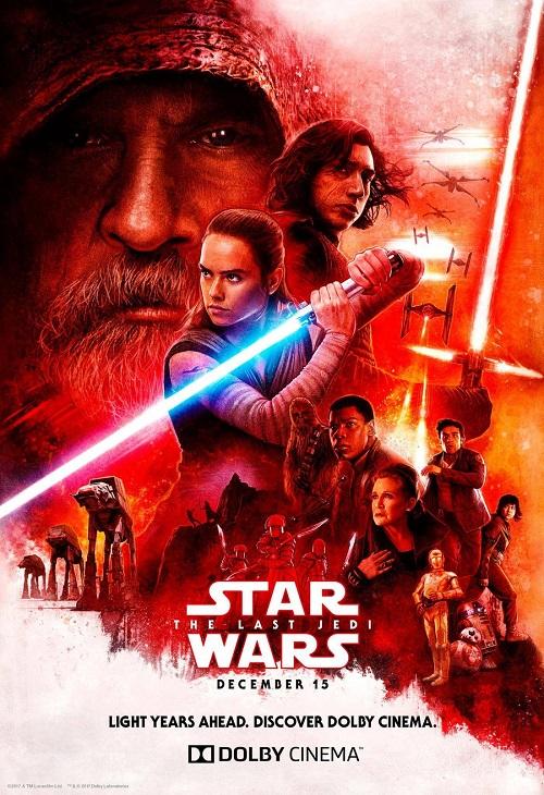 فیلم شماره 3 باکس آفیس: Star Wars: The Last Jedi