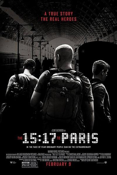 فیلم شماره 5 باکس آفیس: The 15:17 to Paris