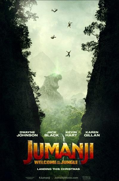 فیلم شماره 4 باکس افیس: Jumanji: Welcome to the Jungle