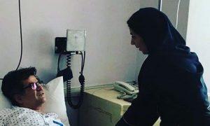 جعفر پناهی در بیمارستان