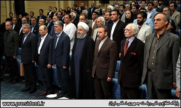 مراسم افطاری رئیس جمهور