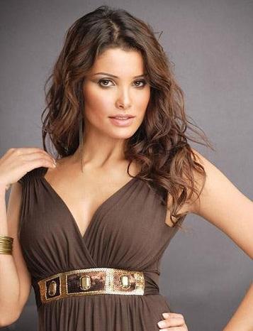 لیلا حاتمی چهارمین بانوی زیبای خاورمیانه