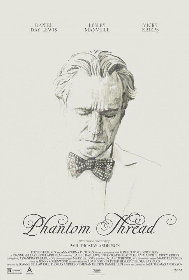 نفد و بررسی فیلم رشته ی خیال - Phantom Thread
