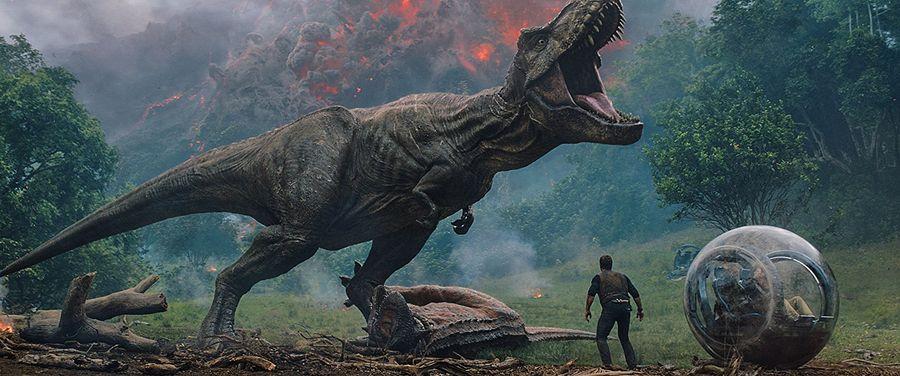 گزارش باکس آفیس 3 تیر : دنیای ژوراسیک پیشتاز در سینماهای جهان