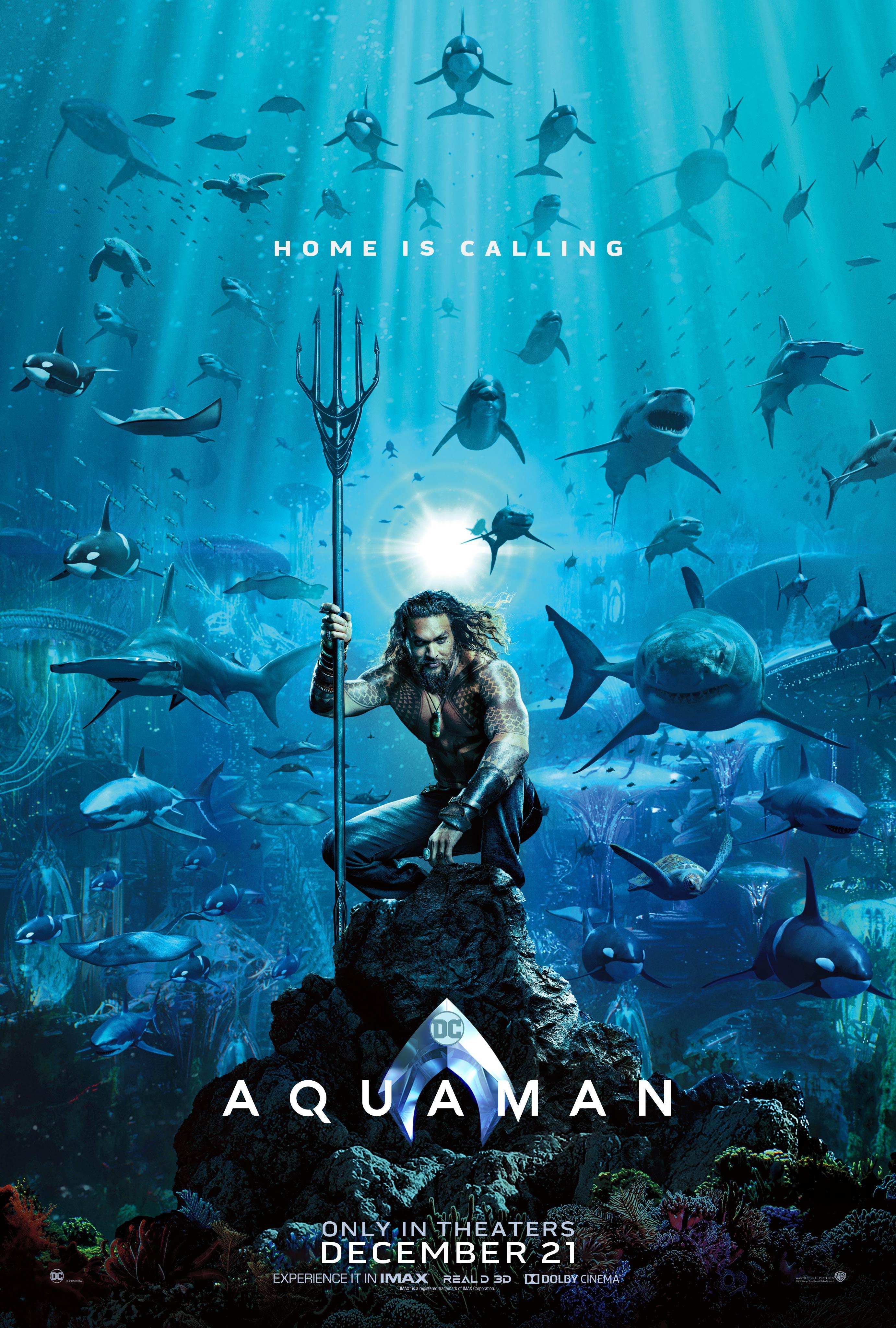 پوستر جدید فیلم آکوامن