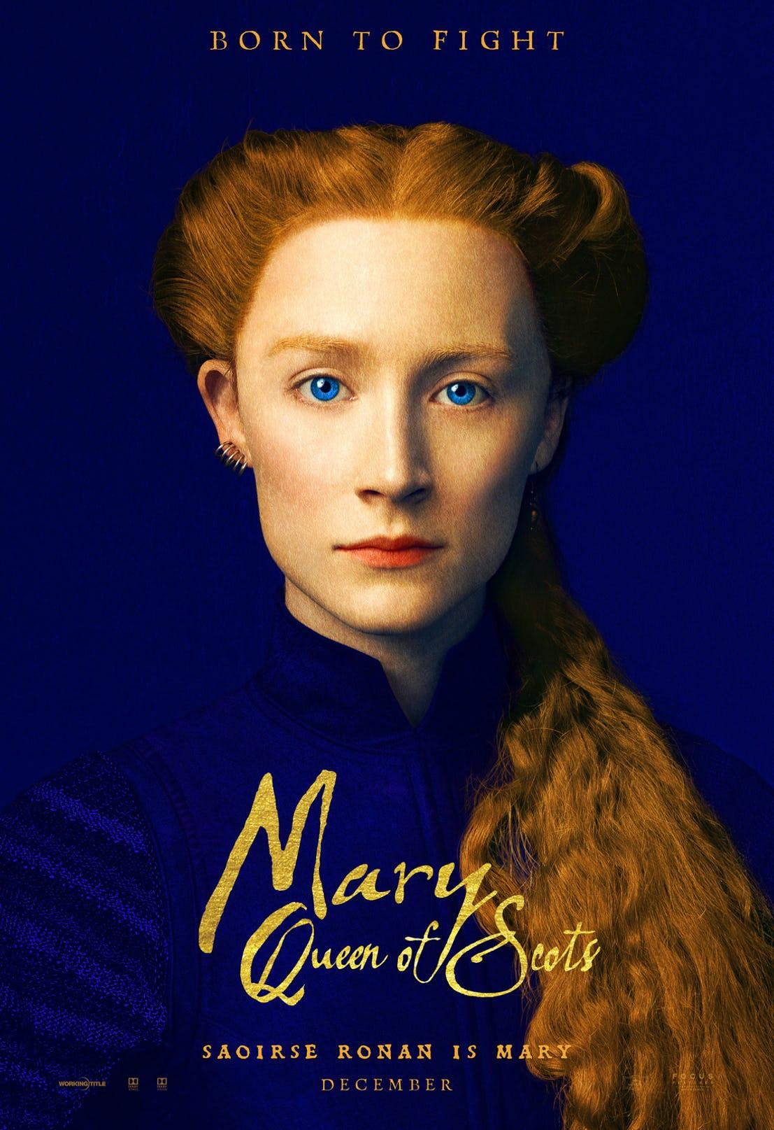 دو پوستر جدید فیلم ماری ملکه اسکاتلند