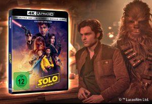 تاریخ انتشار نسخه بلوری فیلم سولو: داستانی از جنگ ستارگان