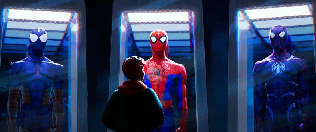 عکس جدید انیمیشن مرد عنکبوتی : به درون دنیای عنکبوتی