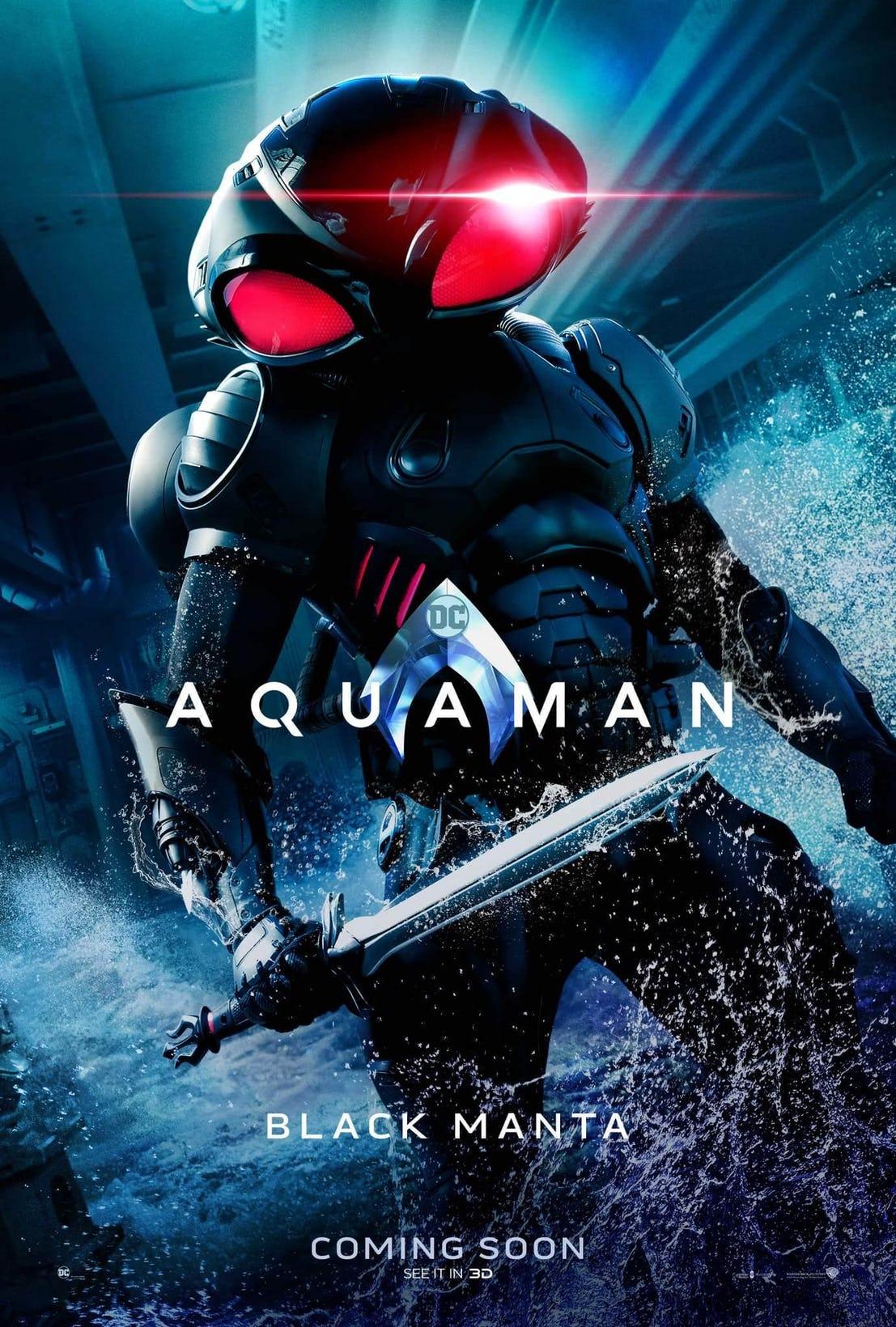 پوسترهای جدید فیلم آکوامن