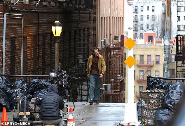 آخرین عکس های پشت صحنه فیلم جوکر