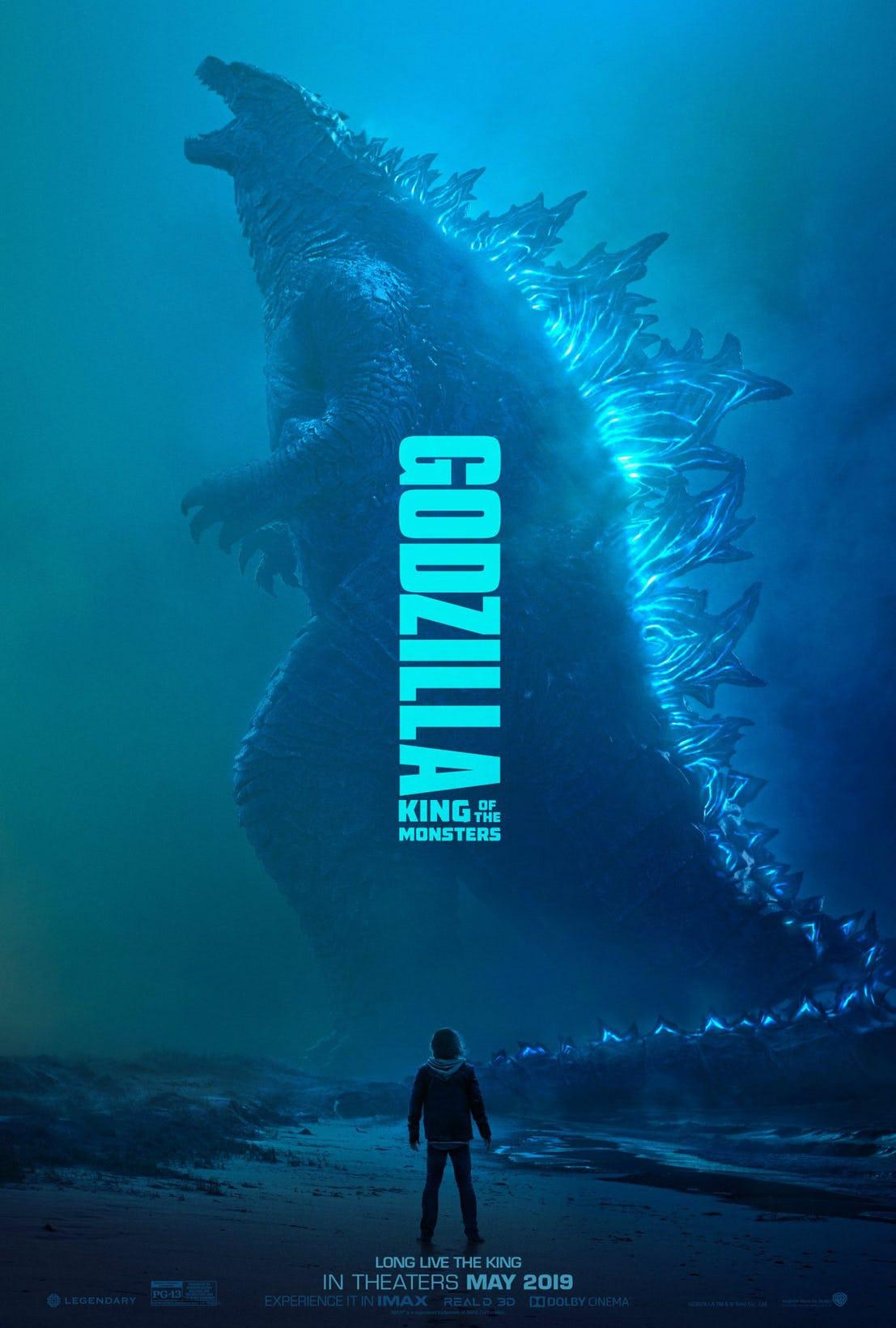پوستر جدید و دومین تریلر فیلم گودزیلا: سلطان هیولاها