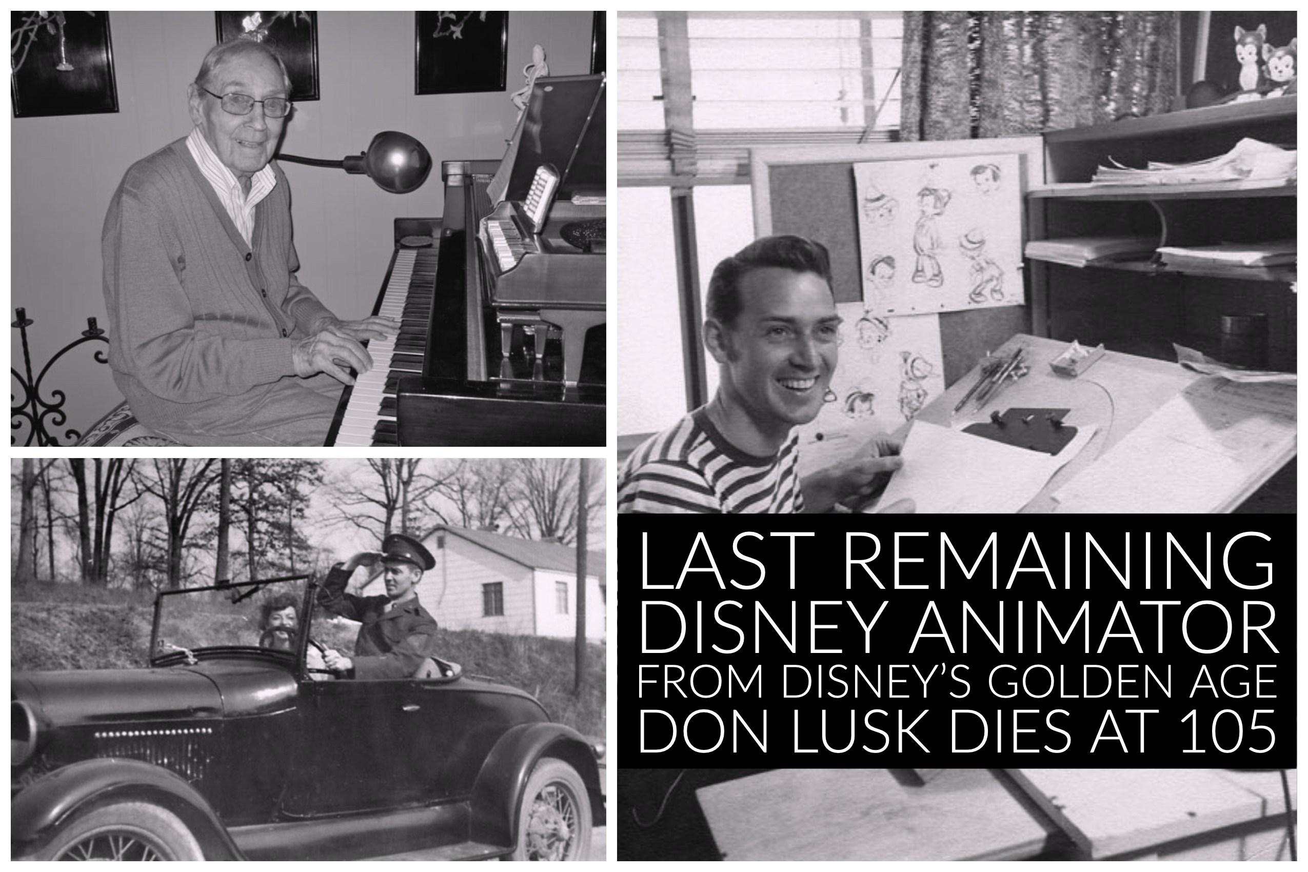 دان لاسک - انیماتور انیمیشن های کلاسیک دیزنی