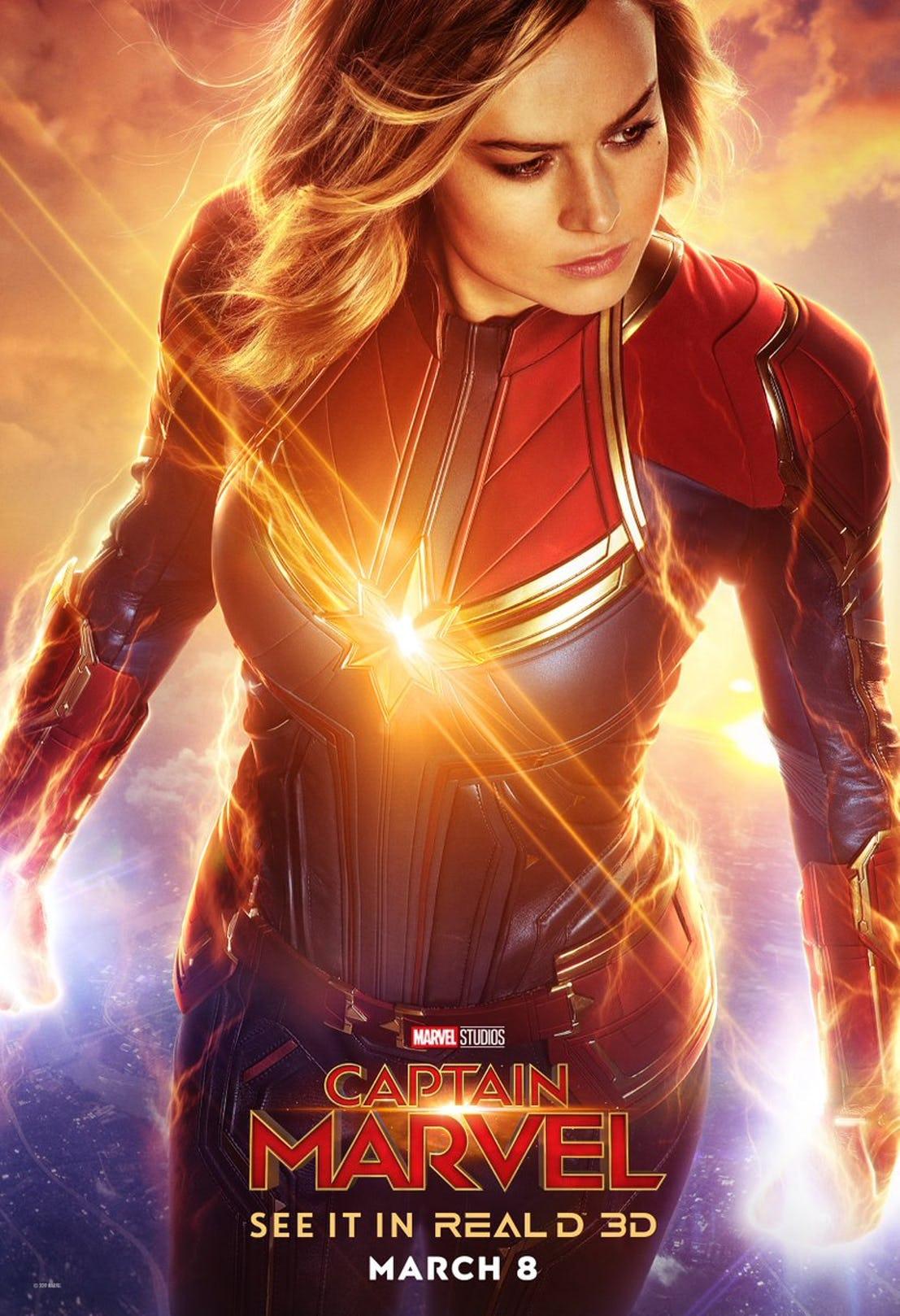 پوسترهای جدید فیلم کاپیتان مارول