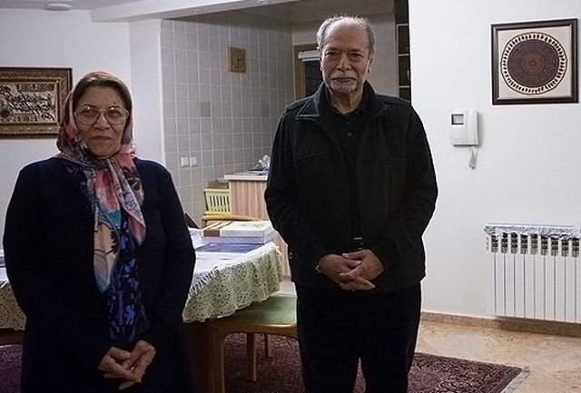 همسر علی نصیریان