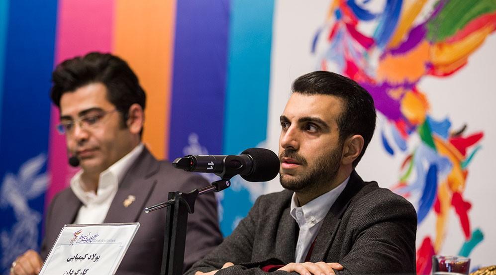 اعتراض شدید پولاد کیمیایی - نشست خبری فیلم معکوس