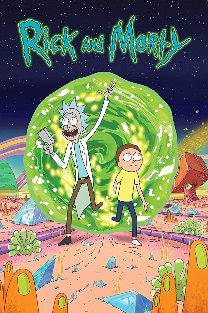 پوستر سریال ریک و مورتی