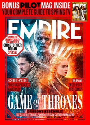 عکس سریال بازی تاج و تخت روی مجله امپایر